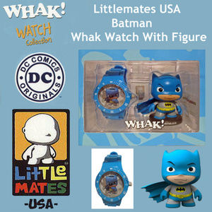 Littlemates USA Batman Whak! Watch With Figure